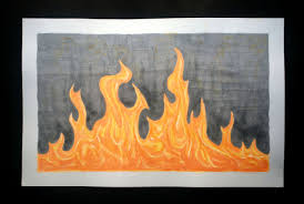 how to paint fire 8 steps with pictures wikihow