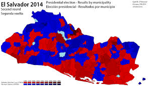 New York Gang Territory Map by El Salvador 2014 World Elections