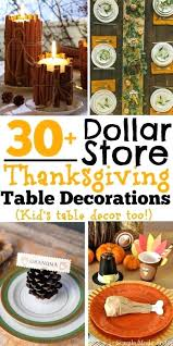 thanksgiving table decorations pictures dollar store thanksgiving