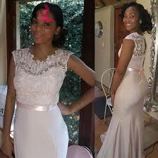 2016 cheap lace floor length bridesmaid dresses black girls