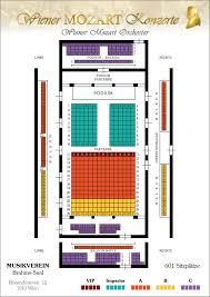 orchestra floor plan vienna mozart orchester musikverein golden hall vienna concert