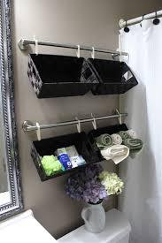 simply marvelous bathroom organization ideas get rid all tisket tasket wall full baskets