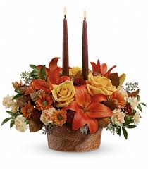 fall flower arrangements fall flower arrangements teleflora s wrapped in autumn centerpiece