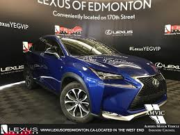 lexus lx for sale in edmonton certified pre owned 2016 lexus nx 200t demo unit f sport series