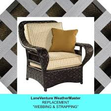 Chair Webbing Straps Lloyd Flanders Wicker Furniture Lane Weathermaster Replacement