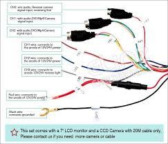 caravan wiring diagram for reversing camera