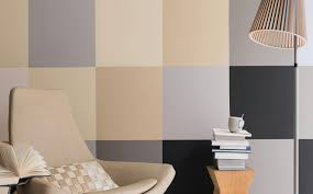 use neutrals to create a block pattern effect dulux