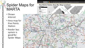 Marta Train Map Spider Maps Summary Of Best Practices And Guide To Design Ppt