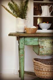 Best I Love A Green Kitchen Images On Pinterest Vintage - Green kitchen table