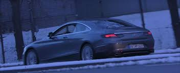 mercedes s coupe 2018 mercedes s class coupe facelift makes spyshot debut with