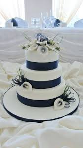 blue wedding navy blue wedding cake decorations and hot pink cakes summer
