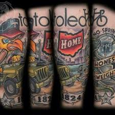 my hometown of toledo done by an artist at infinite art where i