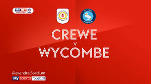Two Racing Flags Logo Crewe 2 3 Wycombe Match Report U0026 Highlights