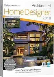 Home Designer Pro Retaining Wall Amazon Com Chief Architect Home Designer Architectural 2018 Dvd