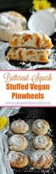 vegan butternut squash stuffed pinwheels these sweet vegan
