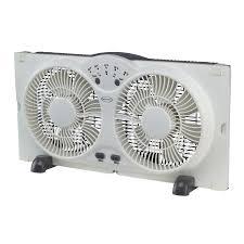 twin window fan lowes shop feature comforts 9 twin window fan at lowes com