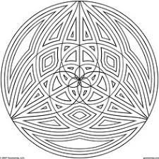 design coloring pages kaleidoscope coloring pages geometrip com free geometric
