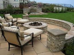 Backyard Paver Patio Ideas Decor U0026 Tips Astounding Patio Furniture With Firepit And Paver