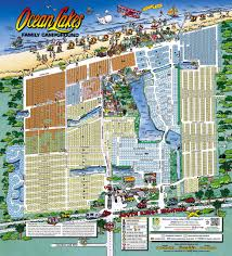 Map Of Florida Zip Codes by Maps Ocean Lakes Family Campground
