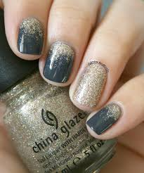 31 snazzy new year u0027s eve nail designs glitter ombre nails short