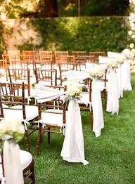 wedding chair decorations diy tulle wedding chair decorations