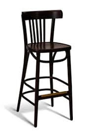 Wooden Bar Stool With Back Curved Back Wood Bar Stool