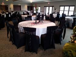 black chair covers bg chair covers home