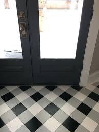 Black And White Checkered Laminate Flooring Black And White Checkered Vinyl Sheet Flooring Decoration