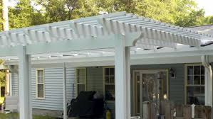 Lattice Pergola Roof by Pool Enclosures Usa Maintenance Free Pergola And Lattice Products
