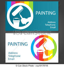 Telephone Icon For Business Card Vector Clip Art Of Business Card For Painting Design Business