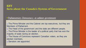Cabinet Responsibilities Canadian Citizenship Preparation Course Week 4 Canadian