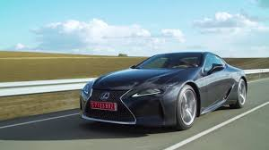 lexus lf lc black lexus lc 500 driving video in black automototv youtube