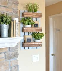 easy diy projects for home decor diy wooden wall planter little vintage nest