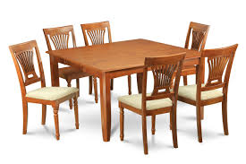 square dining table set for 8 pc square dinette dining table 8 cushioned seat chairs in dining