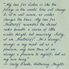 wedding quotes emily bronte i how catherine describes for heathcliff she