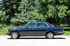 mercedes 300 turbo diesel a really looking car so then i had the mazda on blocks and