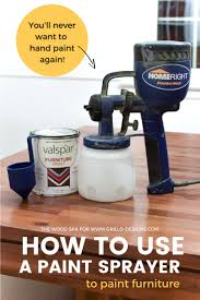 paint sprayer using a paint sprayer a step by step guide grillo designs