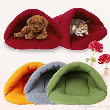 2018 dog bed for small dogs soft fleece pet cat puppy house