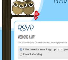 wedding rsvp websites online wedding rsvp for your personal wedding website weddingdonkey