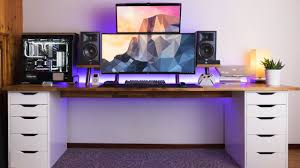 Amazing Dual Monitor Setup Setup Spotlight Youtube