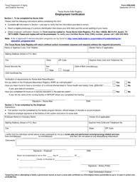 texas nurse application form fill online printable fillable