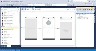 xamarin layout file ios user interface design in visual studio and xamarin studio