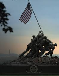 Famous Picture Of Soldiers Putting Up Flag Semper Fidelis Marine Corps Values U0026 Principles Marines Com