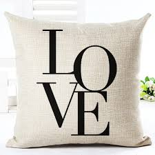 Cute Black and White Decorative Throw Pillow Covers – All the Cute