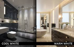 White Bathroom Lights Led Colour Temperature Warm Vs Cold Knightsbridge Audio Visual