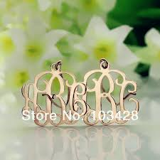Gold Monogram Earrings Online Get Cheap Gold Monogram Earrings Aliexpress Com Alibaba