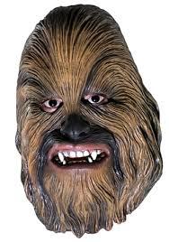 Wookie Halloween Costume Chewbacca Accessories Wookie Masks Gloves Halloween Costumes