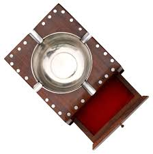 wholesale holiday u0026 christmas gifts wooden ashtray with storage