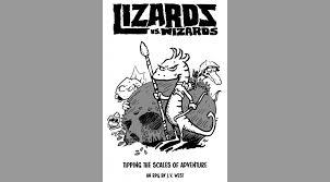 Seeking Lizard Review Lizards Vs Wizards Mini Review Follow Me And Die
