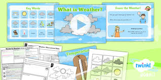 ks1 wonderful weather primary resources geography page 1